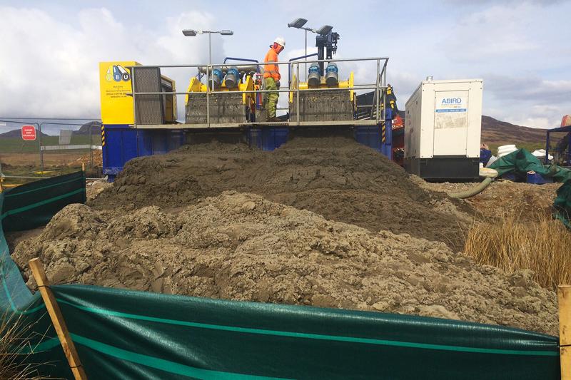 R10EL Mud Reclaiming System R10E Mud Reclaiming System