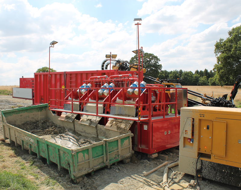 R25E Mud Reclaiming System