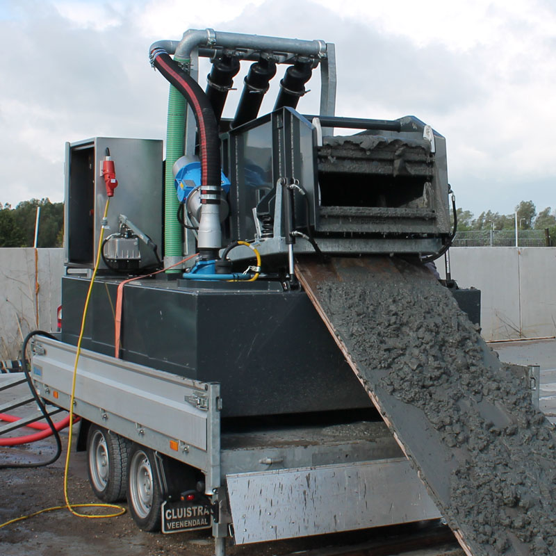 R5E Drilling Mud Reclaiming System