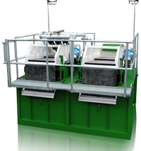 R6E Drilling Mud Reclaiming System