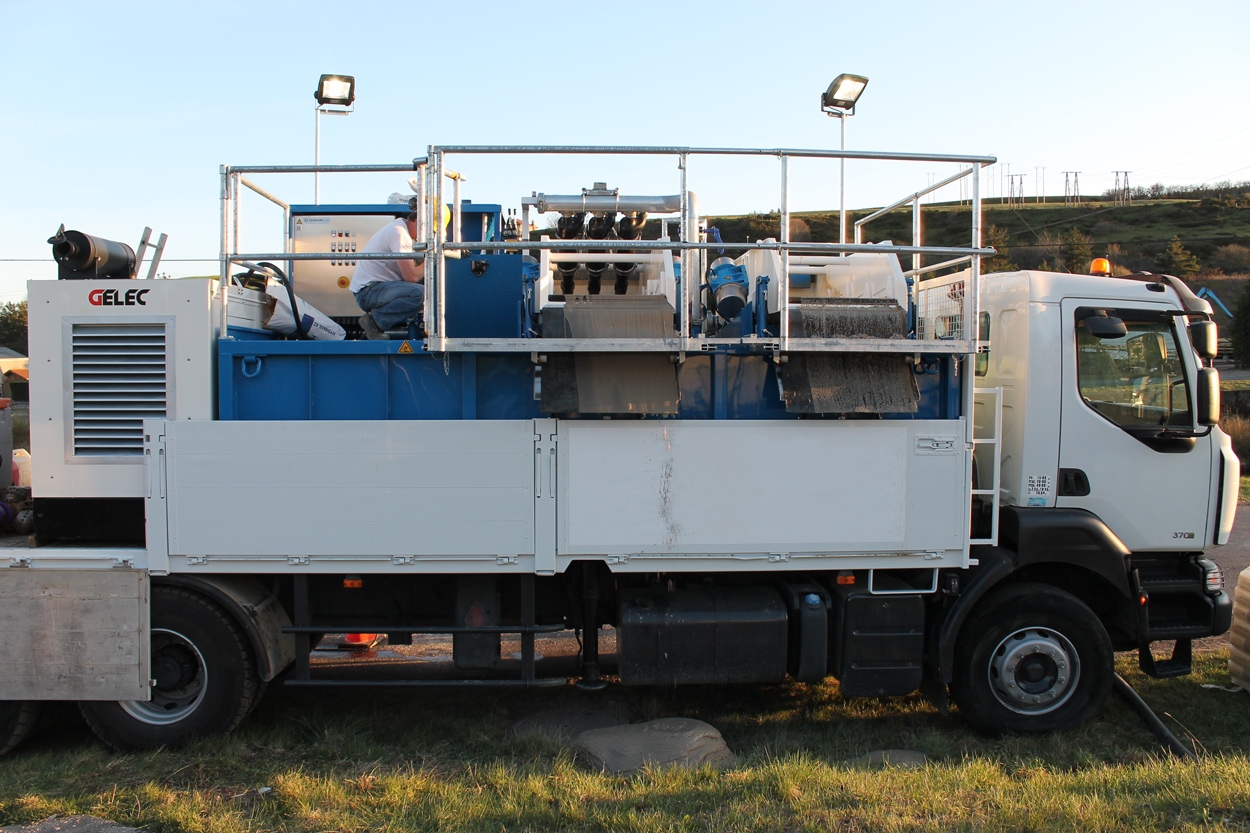 Drilling Mud Mix and Reclaiming Systems